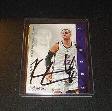 KENDALL MARSHALL 2012-13 Prestige IP AUTO RC AUTOGRAPHED SIGNED In Person
