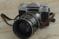 Zenit-6 KMZ Very Rare Soviet USSR SLR 35mm Camera Bessamatic Copy+ Rubin-1 Lens