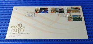 1994 Singapore First Day Cover 175 Years of Modern Singapore Commemorative Stamp