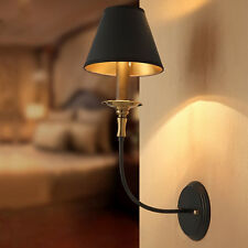 Industrial Retro Wall Light Iron Metal Sconce Vintage Aisle Bedside Lamp Shade