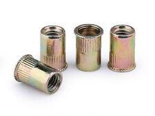 Qty 500 M8 Nutserts Zinc Plated Countersunk Thin Sheet Rivnut Nutsert Rivet Nut