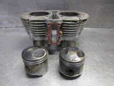1978 78 Yamaha XS650 XS 650 Engine Cylinder Jugs and Pistons WRC033