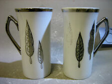 Pair Japanese fine china cups