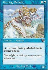 ▼▲▼ 4x Darting Merfolk (Ondine dardante) Mercadian #72 VO Magic