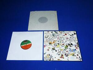 LED ZEPPELIN - III  LP -> WITH TURNTABLE GER. TOP PRESS. VERY HARD COVER TOP CON