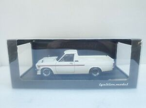 Nissan Sunny Truck Long (B121) White IGNITION 1/18 #IG1438