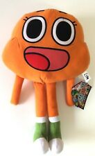 """New The Amazing World Of Gumball DARWIN Plush Stuffed Toy.Large 14"""". Licensed."""