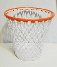 NEW NBA NCAA WNBA BASKETBALL Hoop Goal Net Waste Paper Basket Trash Can