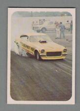 "1972 Fleer AHRA Drag Nationals #61 ""Researcher"" Vega Funny Car"