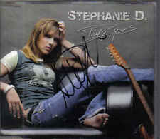 Stephanie D-Truly Yours cd maxi single With Signature