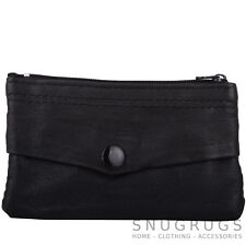 Ladies / Womens / Mens Soft Leather Coin / Money Purse / Pouch / Holder
