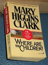 Where Are the Children? by Mary Higgins Clark FREE SHIPPING 0671741187
