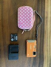 Panasonic LUMIX DMC-TS20 16.1MP Digital Camera - Orange