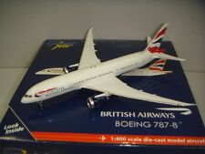"Gemini Jets 400 British Airways BA B787-800 ""Union Jack"" 1:400 First Release"
