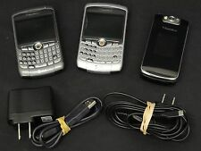 LOT of 3 BlackBerry Cell Phones for Parts/Repair