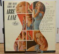 The Many Sides of Abbe Lane Mercury MG 20930 Vinyl 33rpm 072020DBE