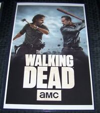 Walking Dead All Out War 11X17 TV Poster Rick Negan