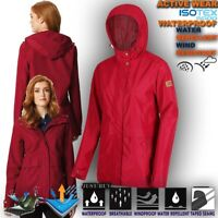 Womens Lightweight Waterproof Jacket Hiking Camping Work Coat Hoodie Bidelia