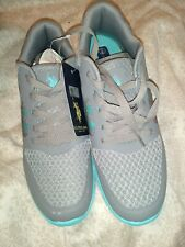 U.S. Polo Assn Beth Tennis Shoes 8.5 grey/turquoise/white Nib new