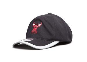 Mitchell & Ness Men's Chicago Bulls Run Reflect Black Cap New