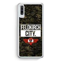Feldkirch City Camouflage Österreich Samsung Galaxy A70 Hülle Motiv Design Au...