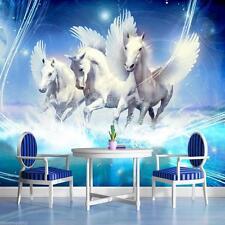 POSTER carta da parati Fotomurale Parete immagine Immagine Foto Carta da parati Pegasus Cavallo 588 p4