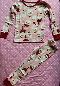 Carter's Girl Pajamas 5T Santa