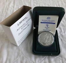 Australia 2000 € 5 un cambiamento radicale Olimpiadi di Sidney 1oz.999 argento PROOF-COMPLETO