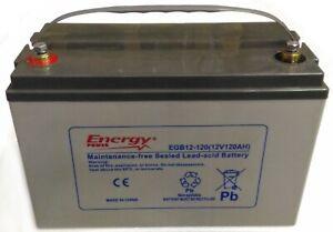 Batteria AGM 120Ah / 20h x SERVIZI ( NAUTICA , CAMPER )   -   PER USO CICLICO