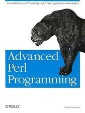 Advanced Perl Programming (Perl Series)