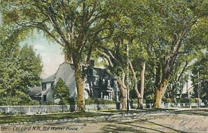 CONCORD NH – Old Walker House – udb - 1907