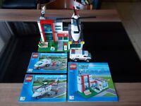 Lego® City - 4429 - Helikopterbasis / Rettungsbasis mit Bauanleitung (BA)