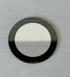 New Generic 39.0mm Mineral Glass With Black Trim To Fit Gucci 114 Digital Watch