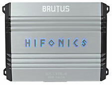 Hifonics Brutus BRX316.4 320w RMS 4-Channel Car Audio Amplifier Class A/B Amp