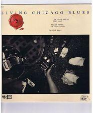 LP LIVING CHICAGO BLUES VOLUME 3 LONNIE BLUES BAND PINETOP PERKINS