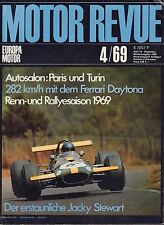 Motor Revue April 1969 Ferrari Daytona German Auto Magazine 051617nonDBE