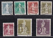 Berlin Mi Nr. 35-41 gestempelt, Michel 320 Euro