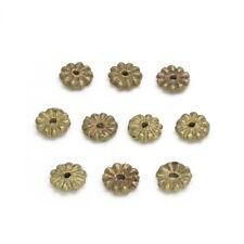 FTA: 10 Baule Bronze Beads (Spacer) - Elfenbeinküste