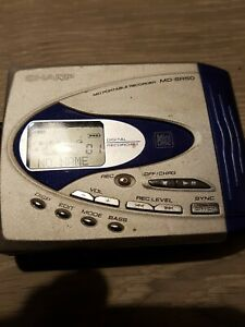 sharp minidisc recorder used unit only
