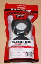 TAMIYA 54199 F104 Pneus en Caoutchouc/PNEUS (Arrière/SOFT) (Ferrari F60/McLaren), Neuf sous emballage