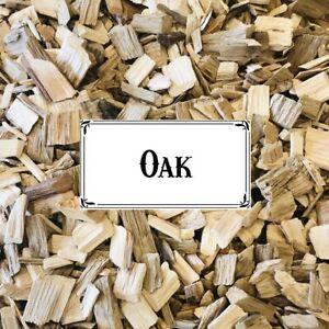 BBQ SMOKING WOOD - Oak Wood Chips 1/2kg Bag  - FREE POST!