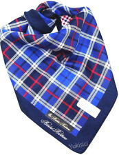 Brooks Brothers Men Japan Easy Care Handkerchief Two Color Tartan Pattern-50cm