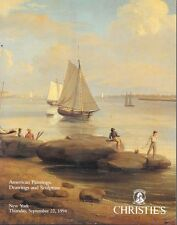 Christie's 7952 American Paintings Watercolors Drawings Auction Catalog 1994
