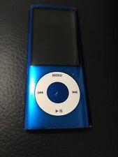 Apple iPod Nano 5th Generation Blue 8Gb A1320 Works!