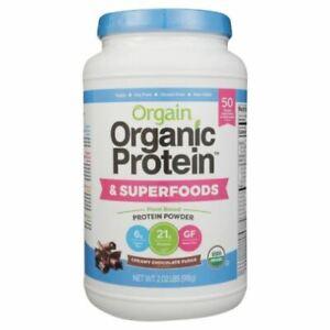 Organic Protein & Superfoods Creamy Chocolate Fudge 2.0