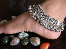 Jingle Bell Anklet PAIR Bare Foot Sandal Ankle Bracelet Jewelry Belly dance Boho