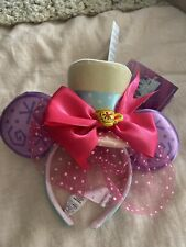 Disney Minnie Mouse The Main Attraction Ear Headband Mad Tea Party March 2020