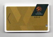 Total Rewards Gold Caesars Harrahs Ballys Casino Players Card Blank