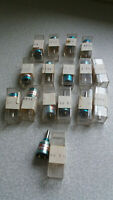 COLLECTION OF  AIRCRAFT / TUBE / VALVE RADIO POTENTIOMETER- MAUREY  INSTRUMENTS