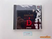 VAMPIRE HUNTER D PS1 Sony Playstation JAPAN Ref:315893